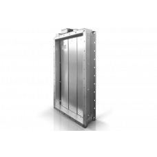 Клапан воздушный утепленный КВУ-В с приводом МЭО