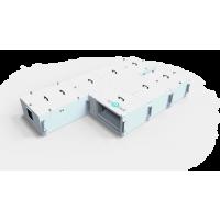 Приточно-вытяжные вентиляционные установки с пластинчатыми рекуперятором нагрев/охлаждение от 1500 - 4000 м3/час
