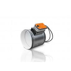 Заслонки с электроприводом на ниппельном, бандажном или фланцевом соединении РК-301