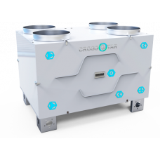 Компактные приточно-вытяжные вентиляционные установки с роторным реукператором от 250-1200 м3/час