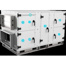 Приточно-вытяжные установки с роторным рекуператором от 600 - 14000 м3/час
